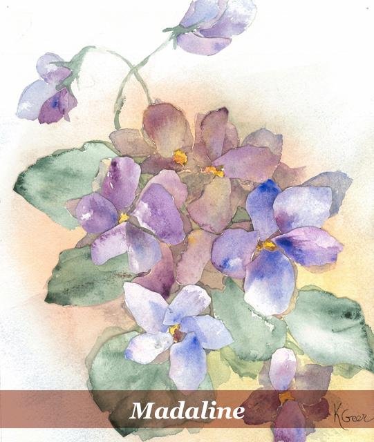 she book artist - kendall geer - madaline