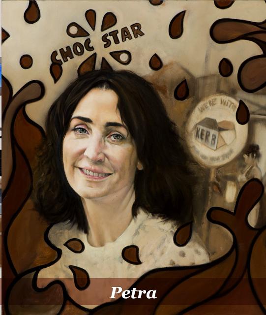 she book artist - marana peirano -petra